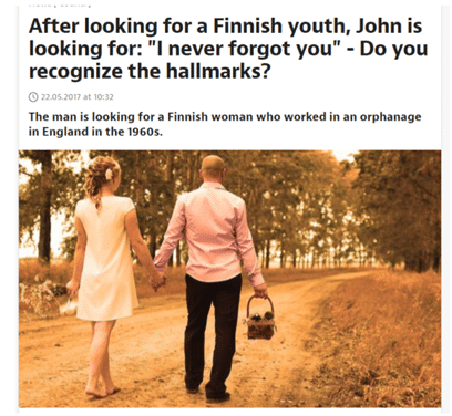 UK Finland Love Story